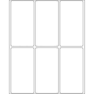 Herma 10616 ablösbar Vielzwecketiketten 3.4x6.7 cm (32 Blatt
