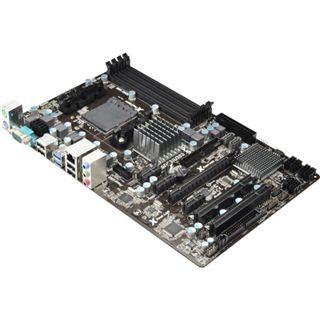 ASRock 980DE3/U3S3 AMD 760G So.AM3+ Dual Channel DDR3 ATX Retail