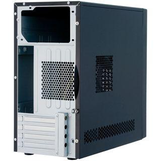 Chieftec UNI BD-02B-SL-U3 Mini Tower 350 Watt silber