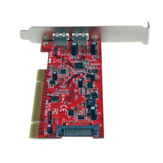 Startech PCIUSB3S22 2 Port PCI Low Profile retail