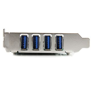 Startech PEXUSB3S400 4 Port PCIe x4 inkl. Low Profile Slotblech retail
