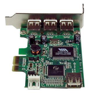 Startech PEXUSB4DP 4 Port PCIe x1 Low Profile retail