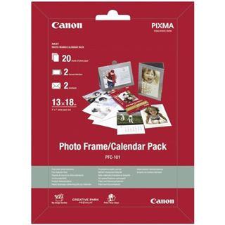 Canon Fotoglanzpapier Plus II PP-201 Fotopapier 13x18 cm (20 Blatt)