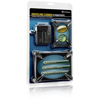 "Sharkoon DriveLink Combo USB 3.0 IDE/SATA Adapter für 2.5"""