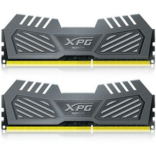 16GB ADATA XPG Gaming Series v2.0 grau DDR3-1600 DIMM CL9 Dual Kit