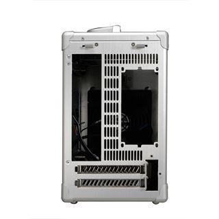 Lian Li PC-TU100A Mini-ITX ohne Netzteil silber