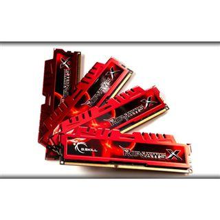 16GB G.Skill RipJawsX DDR3-2133 DIMM CL9 Quad Kit