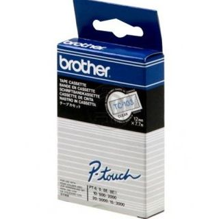 Brother P-Touch TC-103 blue on clear 12mm