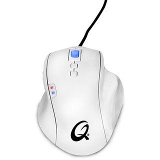 QPad OM-75 Pro USB weiß (kabelgebunden)