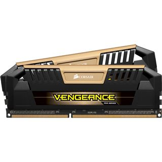 16GB Corsair Vengeance Pro gold DDR3-1600 DIMM CL9 Dual Kit