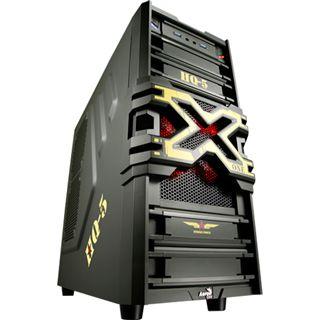 AeroCool Strike-X One Army Edition Midi Tower ohne Netzteil gruen
