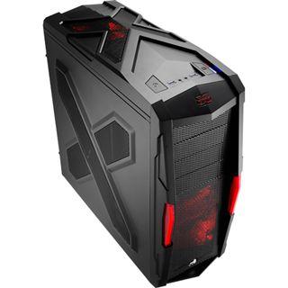 AeroCool Strike-X Xtreme Black Edition Midi Tower ohne Netzteil