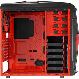 AeroCool Strike-X Xtreme Devil Red Edition Midi Tower ohne Netzteil