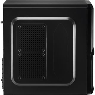 AeroCool V3X Advance Evil Black Edition Midi Tower ohne Netzteil