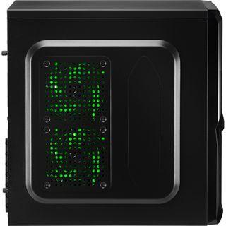 AeroCool V3X Advance Evil Green Edition Midi Tower ohne Netzteil