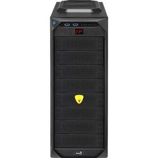 AeroCool VS-92 Black Edition mit Sichtfenster Midi Tower ohne