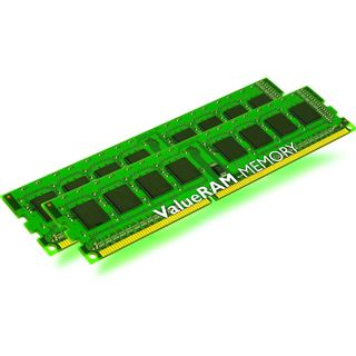 8GB Kingston ValueRAM DDR3-1333 DIMM CL9 Dual Kit