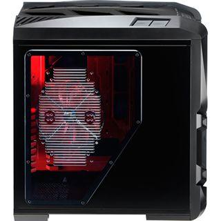 AeroCool GT-S Black Edition Big Tower ohne Netzteil schwarz/rot