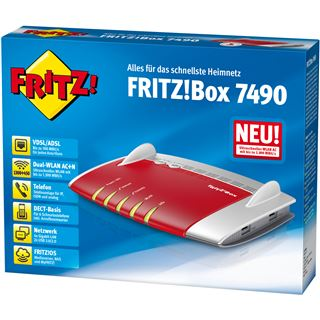 AVM FRITZ!Box 7490 Wireless Router + Modem (20002584)