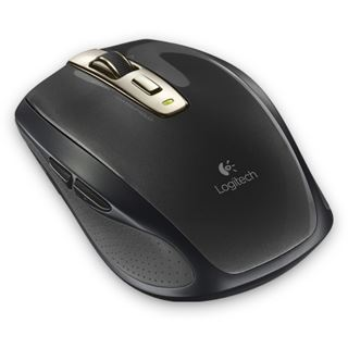 Logitech Anywhere Mouse MX refresh bulk USB schwarz (kabellos)