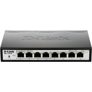 D-Link DGS-1100-08/E 8x 10/100/1000 Mbit Desktop Switch
