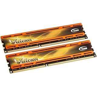 16GB TeamGroup Vulcan Series orange DDR3-2133 DIMM CL11 Dual Kit