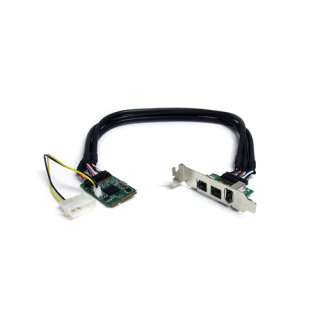 Startech MPEX1394B3 3 Port PCIe Mini Card interner Stromanschluss
