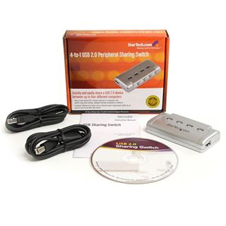 Startech USB421HS 4-fach USB 2.0 Sharing Switch