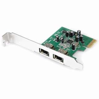 Startech PEX1394A2 2 Port PCIe x1 retail
