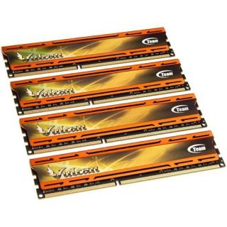 32GB TeamGroup Vulcan Series orange DDR3-1866 DIMM CL10 Quad Kit