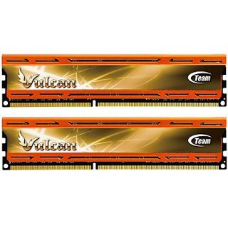 8GB TeamGroup Vulcan Series orange DDR3-1866 DIMM CL9 Dual Kit