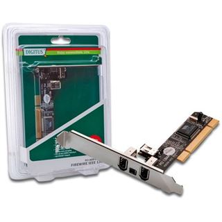 Digitus DS-33203-1 4 Port PCI Low Profile retail