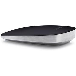 Logitech Ultrathin Touch Mouse T630 USB schwarz/silber (kabellos)