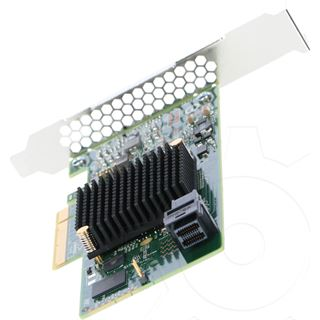 LSI SAS 9300-4i Kit 1 Port Multi-lane PCIe 3.0 x8 Low Profile retail
