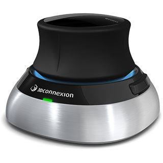 3Dconnexion SpaceMouse USB schwarz/silber (kabellos)