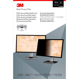 """3M PF21,4W Blickschutzfilter für 21,5"""" Monitore"""