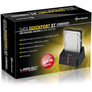 "Sharkoon SATA QuickPort XT USB3.0 Dockingstation für 2.5"""