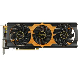 3GB Sapphire Radeon R9 280X Toxic Aktiv PCIe 3.0 x16 (Full Retail)