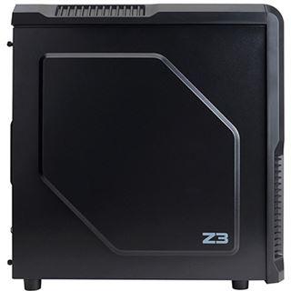 Zalman Z3 Plus mit Sichtfenster Midi Tower ohne Netzteil schwarz
