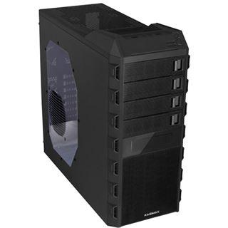 Raidmax Super Altas mit Sichtfenster Midi Tower ohne Netzteil schwarz