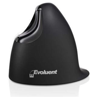 Evoluent Vertical Mouse 4 small USB schwarz (kabellos)