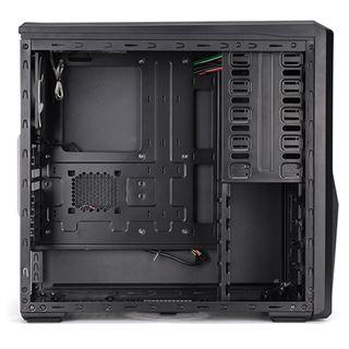 King Mod Zalman Z9 Plus gedämmt Midi Tower ohne Netzteil schwarz