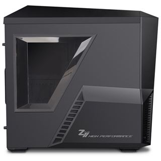 King Mod Zalman Z11 Plus gedämmt Midi Tower ohne Netzteil schwarz