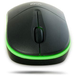 WinTech MR-2025C USB schwarz/gruen (kabellos)