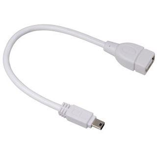 0.15m Hama USB2.0 Adapterkabel USB miniB 5pol Stecker auf USB A