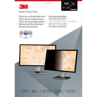 3M PF19.0W PRIVACY FILTER BLAC