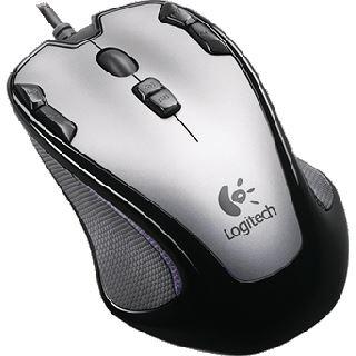 Logitech G300 USB schwarz/silber (kabelgebunden)