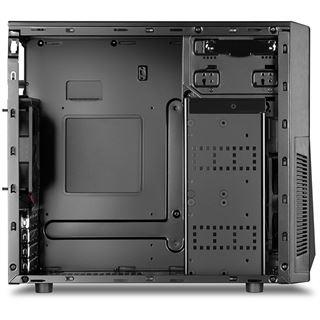 Sharkoon MA-A1000 USB 3.0 Mini Tower ohne Netzteil schwarz