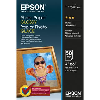Epson C13S042547 Fotopapier 10x15 cm (50 Blatt)