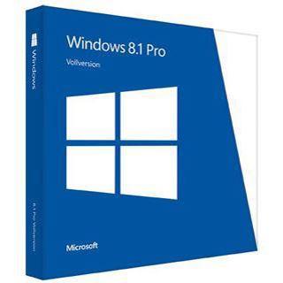 Microsoft Windows 8.1 Pro 64 Bit Spanisch DSP/SB